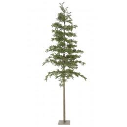 Χριστουγεννιάτικο Δέντρο Slim Plastic 185εκ