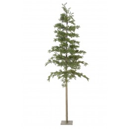Χριστουγεννιάτικο Δέντρο Slim Plastic 265εκ