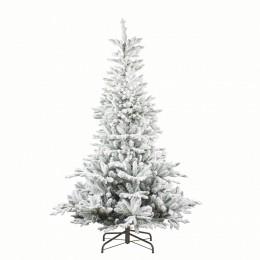 Χριστουγεννιάτικο Δέντρο Διπλό Φύλλωμα Χιονισμένο 2.10μ
