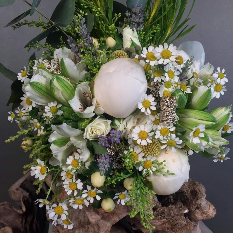 c26732555a6c Νυφική Ανθοδέσμη Μπουκέτο Γάμου Παιώνιες Λουλούδια Του Αγρού Ανθοπωλείο