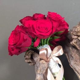 Νυφικό Μπουκέτο Γάμου Κόκκινα Τριαντάφυλλα