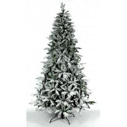 Χριστουγεννιάτικο Δέντρο Έλατο Διπλό Φύλλωμα Χιονισμένο 2.10μ