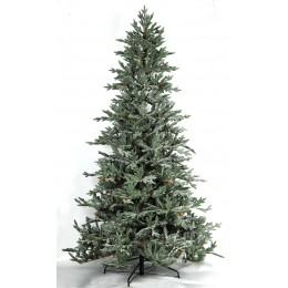 Χριστουγεννιάτικο Δέντρο Παγωμένο Έλατο Plastic Κουκουνάρι 2.10μ