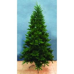 Χριστουγεννιάτικο Δέντρο Έλατο Pvc & Plastic Φύλλωμα 2.10μ