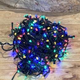 Χριστουγεννιάτικα Λαμπάκια 300 LED Πράσινο Καλώδιο Πολύχρωμα Πρόγραμμα Εξωτερικού Χώρου 31W