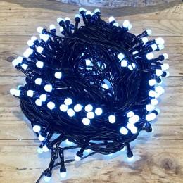 Χριστουγεννιάτικα Λαμπάκια 240 LED Πράσινο Καλώδιο Ψυχρό Φως Milky Πρόγραμα Εξωτερικού Χώρου 31W X