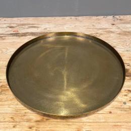 Δίσκος Γάμου Χρυσός Μεταλλικός Αλουμινίου Στρογγυλός 35εκ