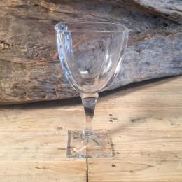 Ποτήρι Γάμου Κρασιού Τετράγωνο Κρυστάλλινο