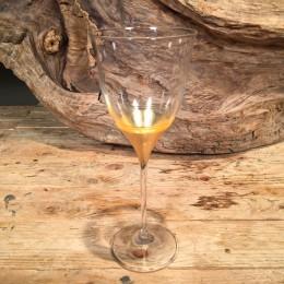 Ποτήρι Γάμου Κρασιού Κρυστάλλινο Χρυσό Σχέδιο