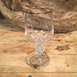 Ποτήρι Γάμου Κρασιού Κρυστάλλινο Χρυσή Ρίγα 16εκ