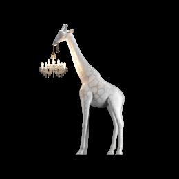 Φωτιστικό Δαπέδου Καμηλοπάρδαλη Λευκό Χρώμα 180*270εκ