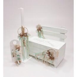 Σετ Βάπτισης Αγόρι Dreamcatcher Bench
