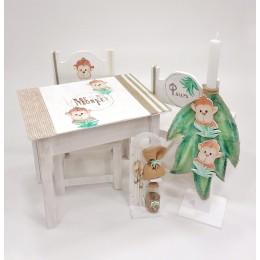 Σετ Βάπτισης Αγόρι Me & My Monkey