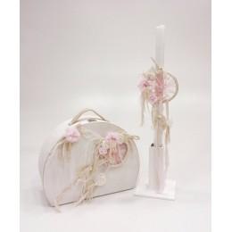 Σετ Βάπτισης Κορίτσι Dreamcatcher Vintage Bag