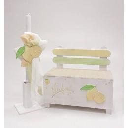 Σετ Βάπτισης Κορίτσι Sweet Lemons