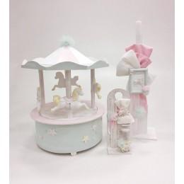 Σετ Βάπτισης Κορίτσι Star Carousel