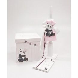 Σετ Βάπτισης Κορίτσι Sweet Panda