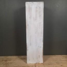 Βάσεις Λαμπάδας Γάμου Ξύλινες Ντεκαπέ Λευκό